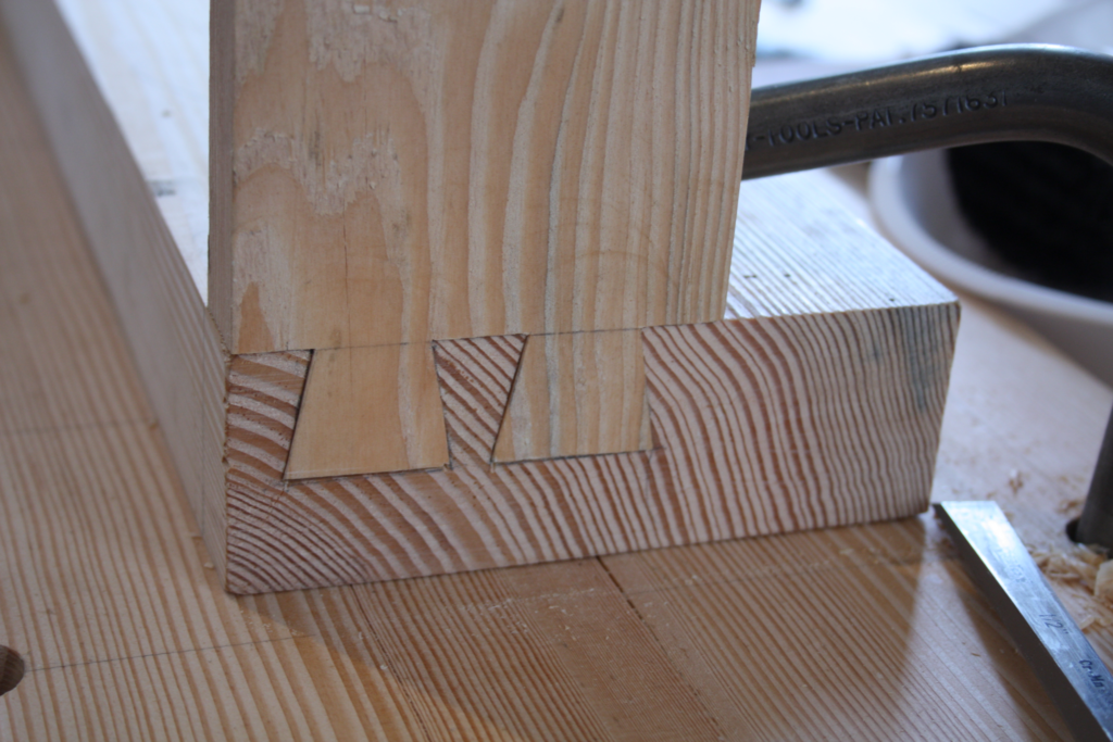 first dovetails